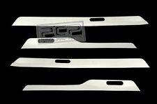 2005-2009 BMW E90 335i 330i 325i 3 Series Chrome Door Sill Cover Plates Trim