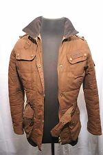 BARBOUR femme L2459 masselottes international veste uk 10 eu 36 us 6 sable FW24