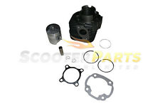 Motor Cylinder Kit w Piston Rings 50mm Parts For 2 Stroke Polaris ATV Quad 90cc