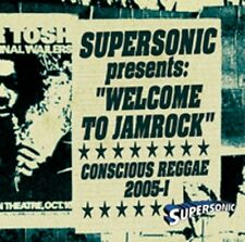 SUPERSONIC WELCOME TO JAMROCK CONSCIOUS REGGAE MIX CD