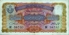 Hyderabad,10 Rupees,Bank Note ,signed: Fakhr Yar Jung, super perfect condition.