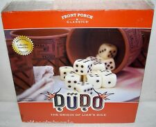 Front Porch Classics DUDO Liar's Dice Bookshelf Game NEW