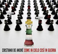 CRISTIANO DE ANDRE' COME IN CIELO COSI IN GUERRA CD NUOVO SIGILLATO