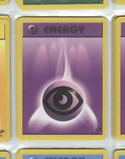 PSYCHIC ENERGY 131/132 - POKEMON - GYM CHALLENGE - Buy more cards and save!