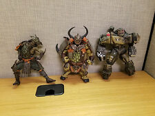 Lot of 3 McFarlane Toys Spawn figures, Dark Ages, more, Dojo!