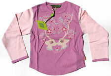 Oilily ✿ NWT✿ Girls Pink Deer Top  sz 98 / 2 - 3 ✿ Designer ✿ NEW