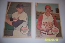 1967 Topps Poster WASHINGTON Senators FRANK HOWARD #7 Please See Others I Have