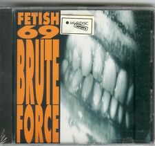 "FETISH 69 ""Brute Force"" CD 1993 NEU & OVP / Spasm V"