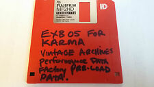 Korg KARMA exb 05 VINTAGE ARCHIVES Performance Data PRELOAD Data FLOPPY