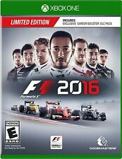NEW F1 2016: Limited Edition (Microsoft Xbox One, 2016)