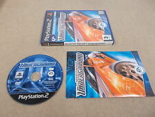 PS2 Playstation 2 pal jeu need for speed underground avec boite instructions