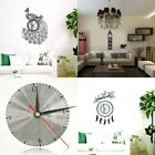 DIY Modern Home Decor Removable Wall Clock 3D Style Decal Sticker Art Design NEW