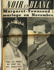 Noir et Blanc n°692 - 1958 - Margaret Townsend - Mariage en Novembre -