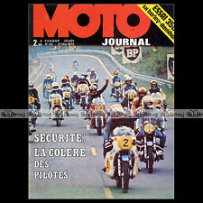 MOTO JOURNAL N°121 HARLEY FL 1200 SX 350 DANE ROWE SIDE-CAR BARRY SHEENE 1973