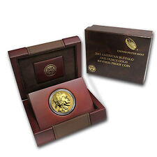 2013-W 1 oz Reverse Proof Gold Buffalo Coin - with Box and Certificate