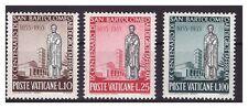 s13048) VATICANO 1955 MNH** S. Bartolomeo 3v