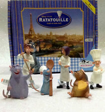 DISNEY BULLYLAND BULLY RATATOUILLE SERIE COMPLETA 6 PERSONAGGI SET 6 PIECES