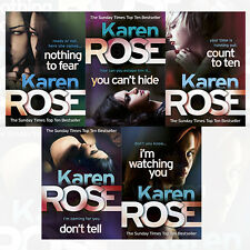 Chicago Series 5 Books Collection Set By Karen Rose I'm Watching You NEW English