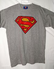 Camiseta/T-shirt - Talla/Size L - SUPERMAN - Gris/Grey - DC COMICS