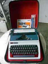 Schreibmaschine Marke Erika mit Betriebsanleitung und Koffer