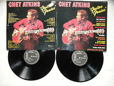 "2 LP CHET ATKINS ""Guitar Genius"" RCA FJL2 7190 FRANCE §"
