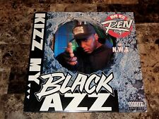 "MC Ren Rare Signed Kizz My Black Azz Ruthless 12"" Vinyl Record Rap N.W.A. NWA"