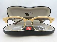 Ray-Ban RB 5154-M 5558 Clubmaster Wood New Authentic Eyeglasses 51/21/145 w/Case