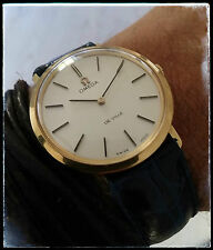 OMEGA DE VILLE 111-067 MANUAL WINDING VINTAGE WATCH UHR MONTRE 18K GOLD cal. 620