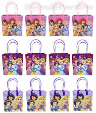 New All Disney Princesses Birthday Party Favors Goodie Bag 12pc Gift Set Bags