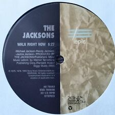 "The Jacksons: Walk right now / Enjoy yourself 12"" vinyl record 7b"