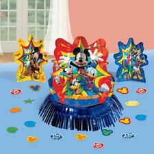 MICKEY MOUSE TABLE DECORATION KIT 3 Centerpiece + confetti Birthday Party Supply