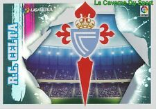 01 ESCUDO BADGE LOGO ESPANA RC.CELTA STICKER LIGA 2016 PANINI