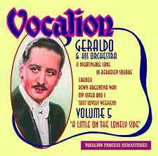 Geraldo & His Orchestra - A Little On The Lonely Side - Volume 5 - CDEA6247