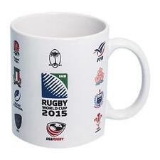 Official 20 Nations IRB World Cup 2015 Rugby Union Ceramic Mug New Boxed RRP£10