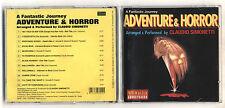 Cd CLAUDIO SIMONETTI Adventure & Horror A fantastic journey OTTIMO 1995