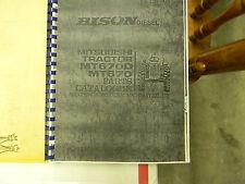 Mitsubishi MT670 (Bison) Tractor Parts Manual
