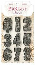 New Bo Bunny Clear Stamps Countdown Number Stamps