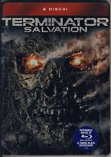 TERMINATOR SALVATION cofanetto nuovo sigillato 2 DVD tin metal box