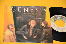 "GENESIS 7"" 45 TURN IT ON AGAIN 1°ST ORIG ITALY 1980"