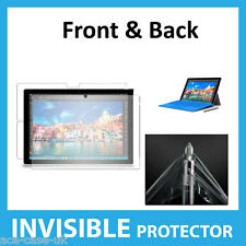 Microsoft Surface Pro 4 INVISIBLE Screen Protector Shield Full FRONT AND BACK