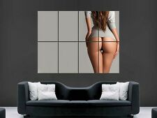 HOT SEXY GIRLS  BUM  LARGE  GIANT POSTER PRINT