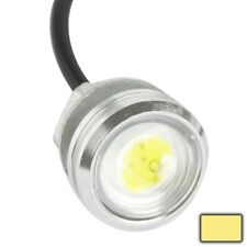 3W Waterproof Eagle Eye Light Warm White LED Light for Vehicles, Cable Length: 6
