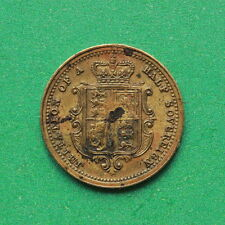1897 - Queen Victoria - Half Sovereign - Token Toy money - SNo43197