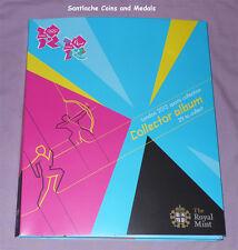 2012 Royal Mint Juegos Olímpicos de Londres 50p Sports Colección-sellado de menta conjunto