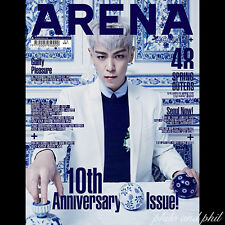 Arena Homme Plus+ Korea Magazine March 2016 BigBang Big Bang TOP