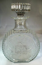 PADEN CITY GLADES #215 SPRING ORCHARD CRYSTAL RYE WHISKEY DECANTER & STOPPER!