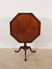 BAKER Furniture Company Historic Charleston Mahogany Tilt Top Tea Table
