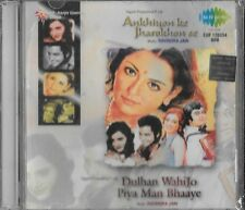 ANKHIYON KE JHAROKHON SE/DULHAN WOHE JO PIYA MAN  .NEW BOLLYWOOD CD FREE UK POST