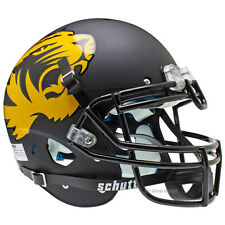 MISSOURI TIGERS ALT BLACK SCHUTT XP AUTHENTIC FOOTBALL HELMET