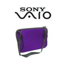 Sony VAIO VGP-AMC9 Laptop Case Black or Purple Color Sleeve HP Dell Acer 14 15.5